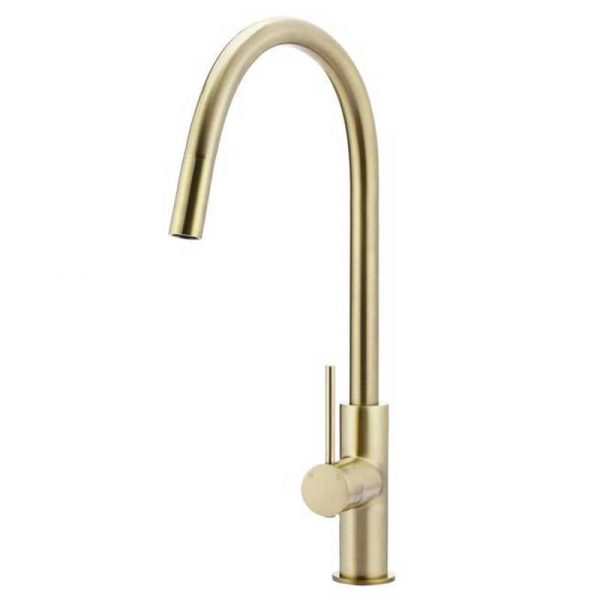 Round Piccola Pull Out Kitchen Mixer Tap