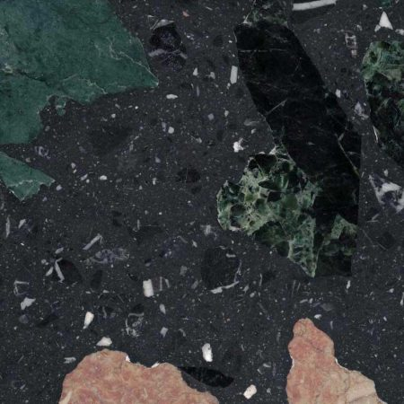 black forest natural terrazzo tile